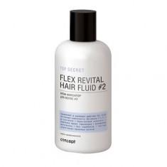 Concept, Крем-фиксатор для волос Flex revital fluid #2, 250 мл