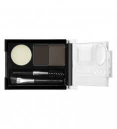NYX PROFESSIONAL MAKEUP Тени для бровей Eyebrow Cake Powder - Black/ Gray 01