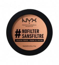 NYX PROFESSIONAL MAKEUP Финишная пудра #nofilter Finishing Powder Deep Golden 13