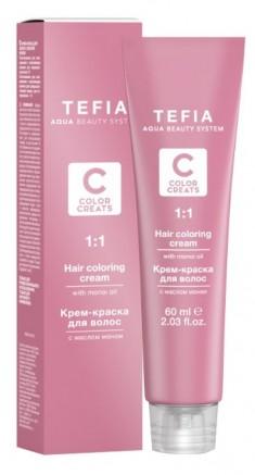 TEFIA 8.2 краска для волос, светлый блондин бежевый / Color Creats 60 мл