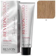 REVLON PROFESSIONAL 8 краска для волос, светлый блондин / RP REVLONISSIMO COLORSMETIQUE 60 мл