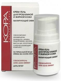Кора Крем-гель для проблемной и жирной кожи с матирующим эффектом 50 мл КОРА