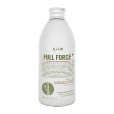 Оллин/Ollin Professional FULL FORCE Очищающий шампунь для волос и кожи головы с экстрактом бамбука 300мл