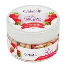 EVABOND, Воск для лица «Face Wax», Клубника со сливками, 45 г IRISK