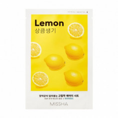 Маска тканевая освежающая с лимоном MISSHA Airy Fit Sheet Mask Lemon