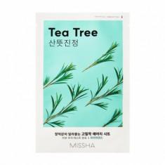 Маска тканевая с чайным деревом MISSHA Airy Fit Sheet Mask Tea Tree