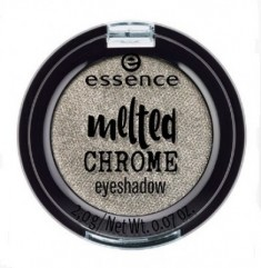 Тени для век ЕSSENCE Melted Chrome 05 теплый серебряный Essence