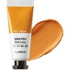 Универсальный цветной пигмент the SAEM Semi Pro Multi Color 06 Yellow 5мл
