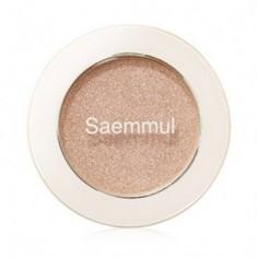 Тени для век мерцающие THE SAEM Saemmul Single Shadow(Shimmer) BE02 2гр