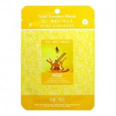 Маска тканевая золото Mijin Gold Essence Mask 23гр