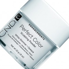 Cnd sculpting powder perfect white shimmer пудра белая 22г