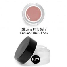 Nano professional, silicone pink gel, укрепляющий камуфлирующий гель, 15 мл