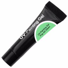 Cnd uv-painting gel pop art green 5мл tube (уф гель-краска)не использовать на натуральных ногтях