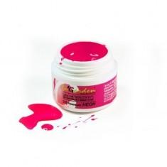 Ingarden, гель-краска без липкого слоя, 025, розовый неон, 5 г In Garden