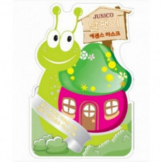 Маска тканевая с экстрактом улитки Junico Snail Essence Mask 25гр Mijin