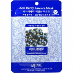 Маска тканевая ягоды асаи Mijin Acai Berry Essence Mask 23гр