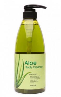 Гель для душа с экстрактом оливы расслабляющий Welcos Olive Body cleanser 740г