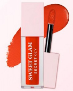 Тинт для губ вельветовый SECRET KEY Sweet Glam Velvet Tint 02 Orange berry 5г
