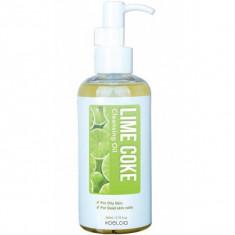 гидрофильное масло с экстрактом лайма (200 мл) koelcia lime coke cleansing oil