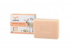 REBIRTH Мыло туалетное твердое увлажняющее на основе экстракта плаценты и арганового масла / Placenta Argan Oil Moisturising Soap 100 г
