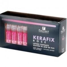 Fauvert Professionnel Kerafix Bleu - Розовый Лосьон для укладки локонов, 30х10 мл