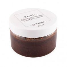 Masura, Сахарный скраб для тела Coffee and Coconut, 250 мл