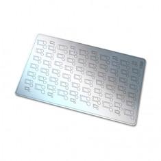 Freedecor, Металлизированные наклейки №125, серебро