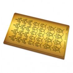 Freedecor, Металлизированные наклейки №224, золото