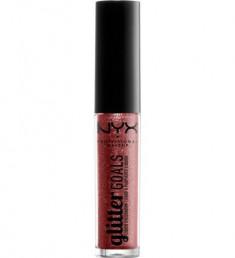 NYX PROFESSIONAL MAKEUP Жидкие тени для век Glitter Goals Liquid Eyeshadow Poppy Fields 06
