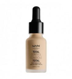 NYX PROFESSIONAL MAKEUP Тональная основа Total Control Drop Foundation - Nude 065