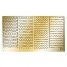 Freedecor, Металлизированные наклейки №210, золото