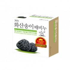 Мыло с вулканическим пеплом Mukunghwa Jeju Volcanic Scoria Body Soap 85г