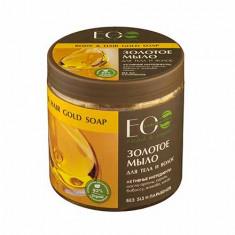 EcoLab, Мыло для тела и волос «Золотое», 450 мл
