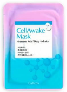 Тканевая маска увлажняющая с гиалуроновой кислотой Callicos CellAwake Hyaluronic Acid 25 г