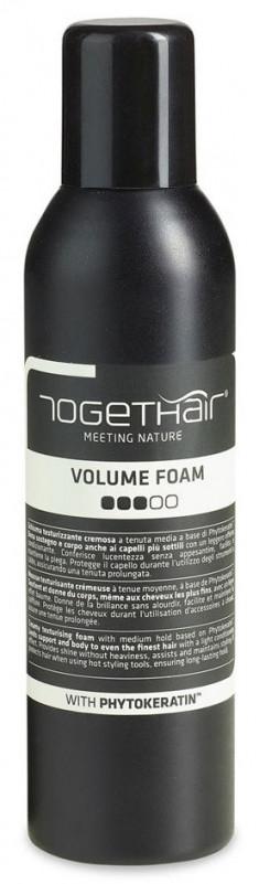 TOGETHAIR Спрей-пенка средне-сильной фиксации для укладки волос / Finish Concept Volume Foam 250 мл