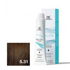 TNL, Крем-краска для волос Million Gloss 5.31 TNL Professional