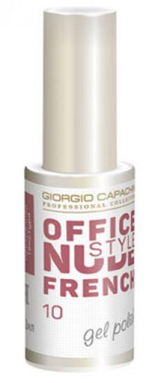 GIORGIO CAPACHINI 10 гель-лак для ногтей / French OFFICE NUDE STYLE 12 мл