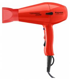 KAPOUS Фен профессиональный Kapous Tornado 2500, красный