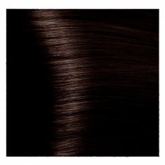 KAPOUS NA 3.53 краска для волос, темный коричневый терракотовый / Magic Keratin 100 мл