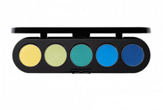 Тени прессованные палитра 5 цветов MAKE-UP ATELIER PARIS Т32 восточное золото 10 г