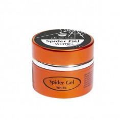 Planet nails, spider gel, гель-паутинка, белая, 5 г