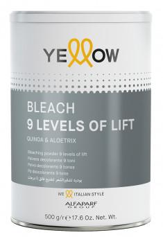 YELLOW Порошок для обесцвечивания волос до 9 уровней / YE Bleach 500 г