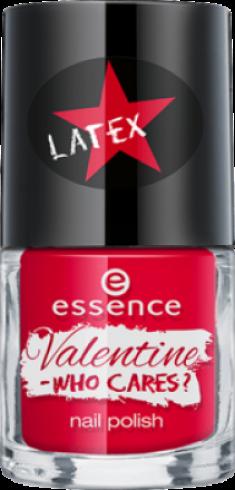 Лак для ногтей Valentine - who cares Essence 03 crew love is true love