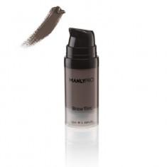 Гелево-кремовый суперстойкий тинт для бровей Brow Tint серо-коричневый Manly Pro ET04