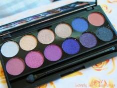 Палетка теней Sleek MakeUp Eyeshadow Palette I-Divine (12 тонов) Vintage Romance